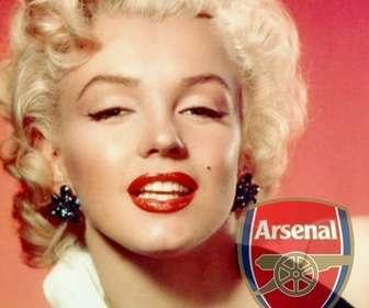 Collage di mettere scudo Arsenal nella foto. Perfetto per mettere il tuo avatar.