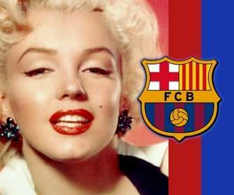 Ejemplo: Put the colors and emblem of Barcelona in your picture and show your colors!