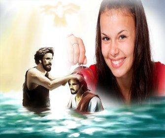 Immagine per aggiungere la foto con Giovanni Battista e Gesù Cristo