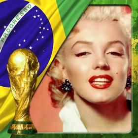 Efeito para fotos com a bandeira do Brasil e que o casal copa do mundo appose o fundo da foto.