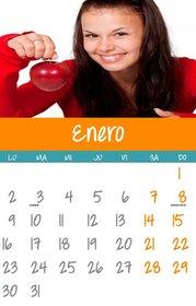 Crear calendarios de meses del año 2019 personalizados
