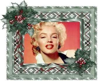 Cartolina di Natale animati, personalizzabile con la tua foto e il Natale luccica.