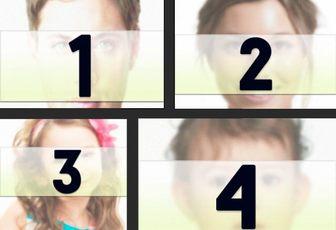 Collage con 4 fotos separadas por un marco negro donde podrás colocar diferentes imágenes de varias dimensiones y aplicarles un filtro fotográfico y texto.
