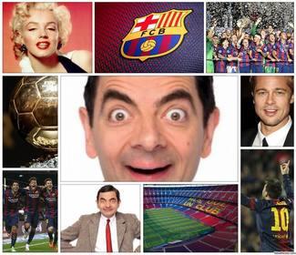 original collage fc barcelona editar 4 fotos