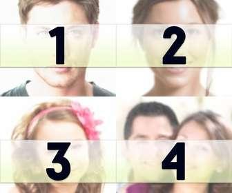 Haz un collage con 4 fotos que puedes usar como foto de perfil, fondo de pantalla o imagen de portada de Facebook!