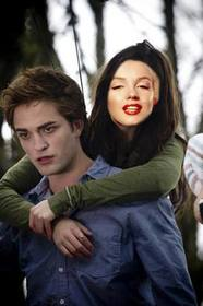 Ejemplo: Photomontage of Bella Swan of Twilight in which you can put your face.