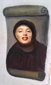 Ejemplo: Fotomontaje de la restauración del Ecce Homo, (Cristo De Borja) para hacer con tu foto.