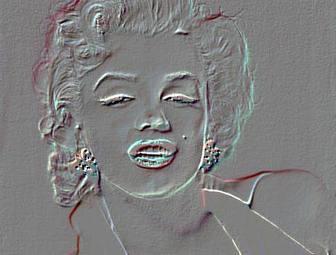 Efecto de relieve para tu foto. Edita tu fotografía con este fotoefecto de realzado. Filtro de imagen online.
