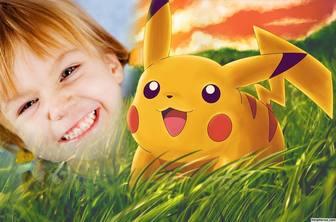 Foto-Effekt mit Ihrem Bild zu bearbeiten und Pikachu add on es Online-Effekt mit Pikachu