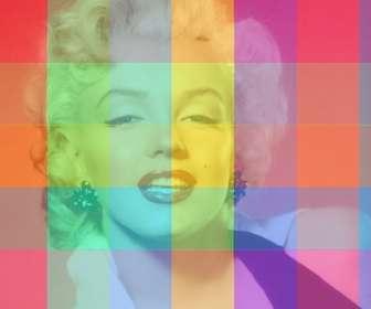 Ejemplo: Filtro fotográfico online con cuadros de múltiples colores diferentes para colorear tus imágenes de una forma muy divertida y diferente.
