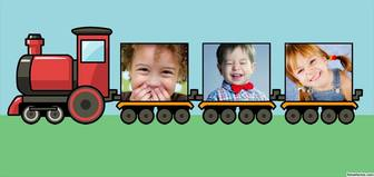 Online Collage aus einem Kinder trainieren ideal für Kinder drei Fotos kostenlos