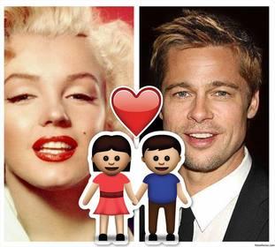 marco fotos gratis emoji pareja un corazon