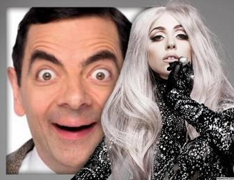 Effekt mit Lady Gaga Ihr Foto zu setzen und kostenlos