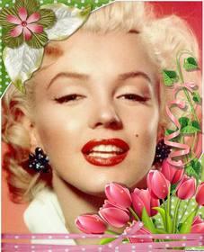 Frame decorativo com lindas rosas e flores para suas fotos