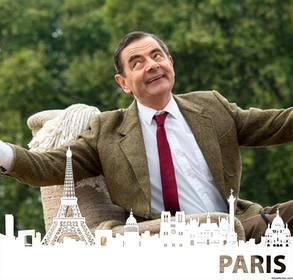 Effetto foto modificabile per la vostra foto per aggiungere la silhouette di Parigi
