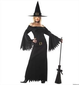 Fotomontagem da mulher com traje da bruxa sexy.