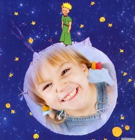 Bild von Der Kleine Prinz Geschichte mit Ihrem Foto zu ändern online