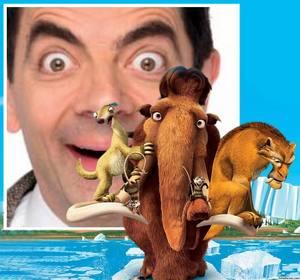 Effet photo avec les personnages du film Ice Age pour récupérer