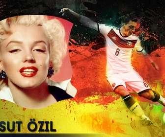Foto-Effekt mit Mesut Özil und Ihre nächste Foto.