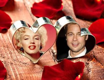 collage amor fotografias corazones anillo