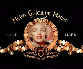 Photo montage to put your picture in the logo of Metro Goldwyn Mayer.