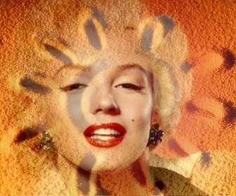 Photomontage de superposer une photo de sable avec un soleil dété sur la photo que vous voulez et ajouter un peu de texte.