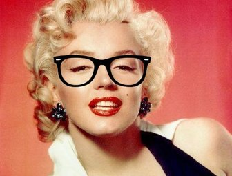 Retro glasses to wear them on your photos and for free