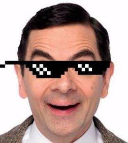 Ejemplo Sticker de gafas pixeladas del meme Deal With It para poner en ...