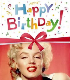 Ejemplo: Marco para fotos de una postal o tarjeta de felicitación de cumpleaños muy colorida, la que podrás personalizar incluyendo la fotografía de tu elección.