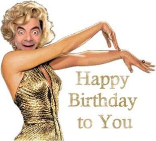 Ejemplo: Happy Birthday card Birthday Marilyn Monroe customizable
