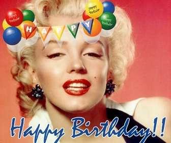 Ejemplo: Montaje fotográfico para fotos de fiestas de cumpleaños o para felicitaciones en estos.