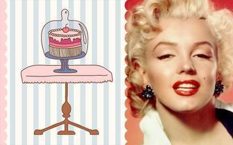 Geburtstag eCard mit der Zeichnung eines Kuchens