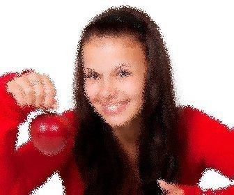 Juega a aplicar este filtro para imágenes jittering de foto deformada.