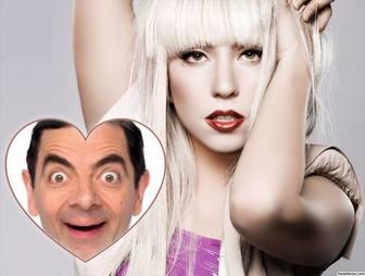 Foto Effekt für Fans von Lady Gaga zu bearbeiten