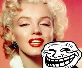 Fotomontage zu Meme Troll Face mit Ihrem Foto setzen.