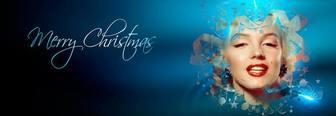 Facebook coprire Buon Natale per personalizzare on-line.
