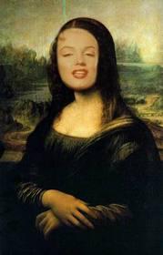 Ejemplo: Fotomontaje de la Mona Lisa de Leonardo Da Vinci.
