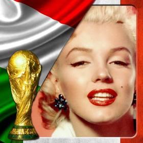Montage per la bandiera italiana a mettere con una foto di voi.