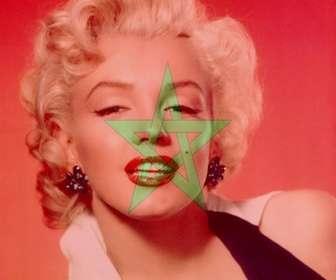 Montage photo pour mettre le drapeau du Maroc avec votre photo.
