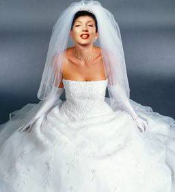 Ejemplo: Wedding Dress up with this photomontage. White.
