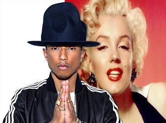 Sua foto com o cantor Pharrell Williams com esse efeito editável