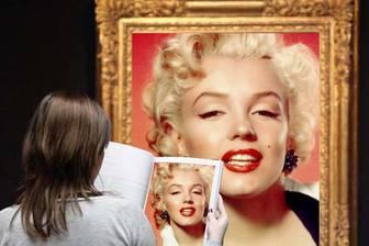 Ejemplo: Efeito de foto em que você aparece em uma famosa pintura em um museu.