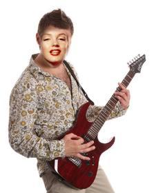 Photomontage dêtre un guitariste exotique avec votre photo en ligne