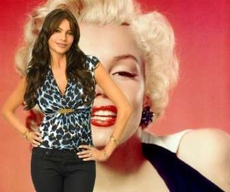 "Photomontage with Sofia Vergara of Modern Family TV Show. Now you can appear in a photo with the actress and Colombian model considered one of the world""s sexiest women."