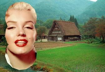 Cartolina di una casa tradizionale cinese fotoeffetti for La casa tradizionale progetta una storia