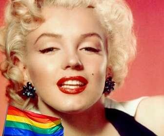 Ejemplo: Efeito para fotos para colocar a bandeira do arco-íris em suas fotos.