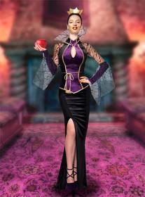Fotomontagem para colocar seu rosto em uma rainha má