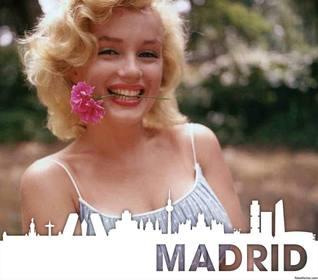 Silhouette der Stadt Madrid Ihr Foto kostenlos
