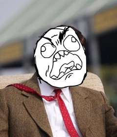 Effect to paste the meme with angry face on your photos