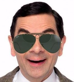 Retro aviator sunglasses to wear them on your photos
